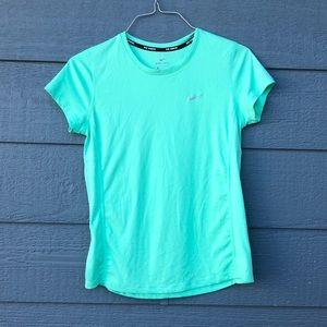 Nike Running Dri-Fit aqua top